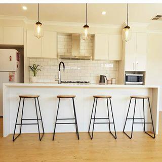 Clean kitchen design. Simplicity is key!
